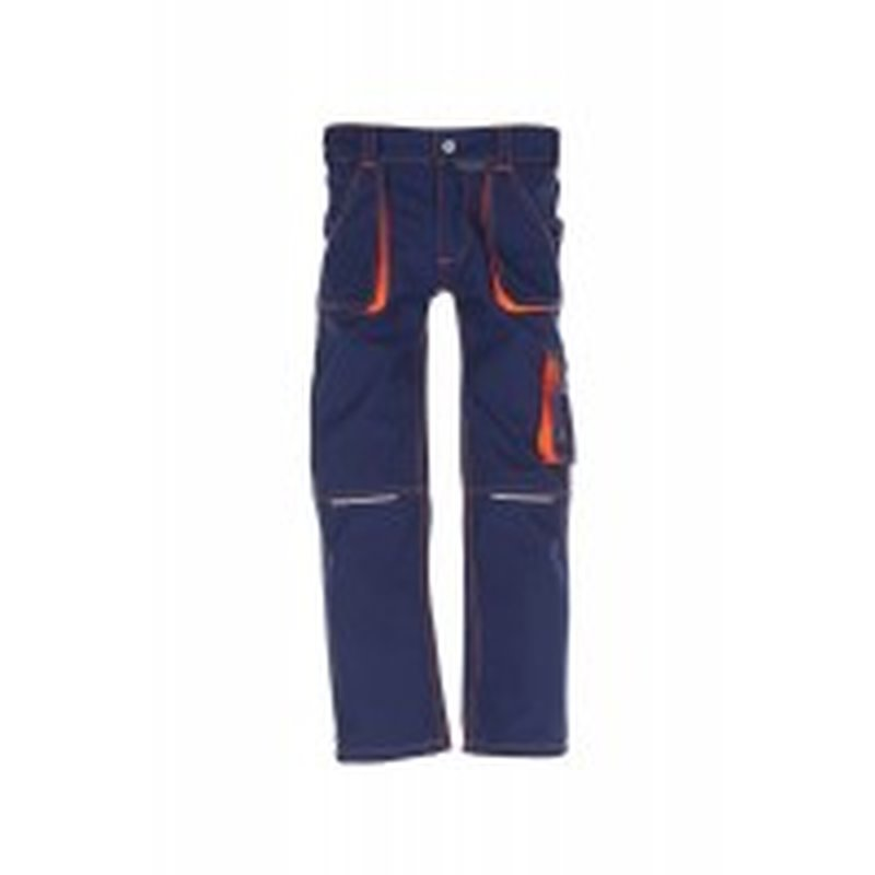 Junior Bundhose marine/orange