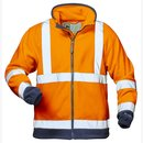 Warnschutz Fleece-Jacke - elysee®  orange-marine